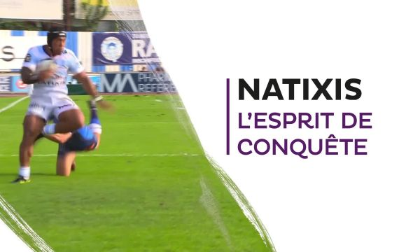 Natixis, parrain officiel du Racing 92